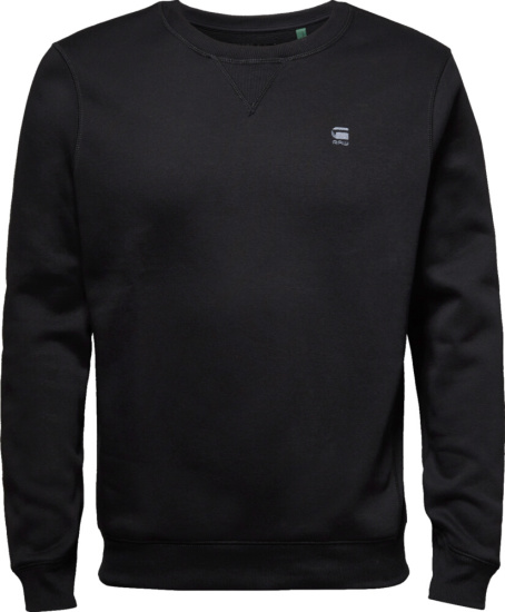 G Star Black Crewneck Sweatshirt