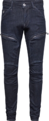 G Star Thigh Zip Detail Jeans