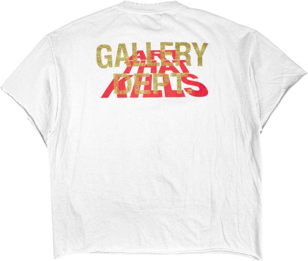 Gallery Dept White Art That Kills Corona T Shirt