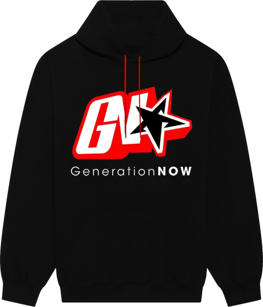 Generation Now Black Gn Merch Hoodie