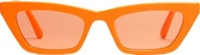 Gentle Monster Orange Cat Eye Sunglasses