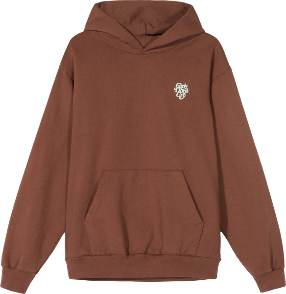 Girls Dont Cry Brown Hoodie