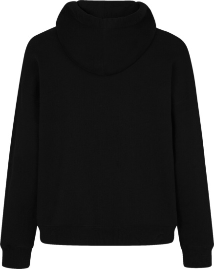Givenchy Black Hoodie With Car And Stop Sign Print