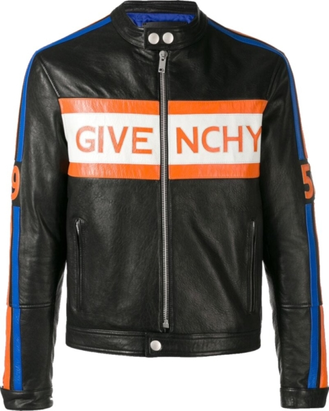 Givenchy Black Motorcycle Jacket