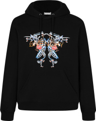Givenchy Black Neon Lights Print Hoogie