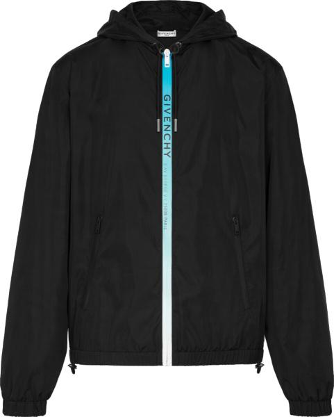 Givenchy Black Ring Print Jacket