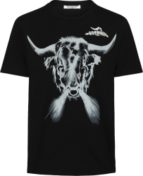 Givenchy Black Tribal Taurus T Shirt