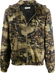 Givenchy Camo Zip Jacket