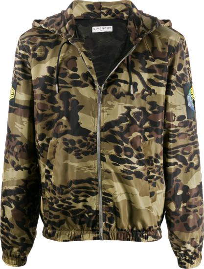 Givenchy Camo Zip Jacket
