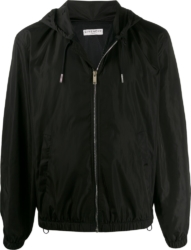 Givenchy Floral Logo Print Black Jacket