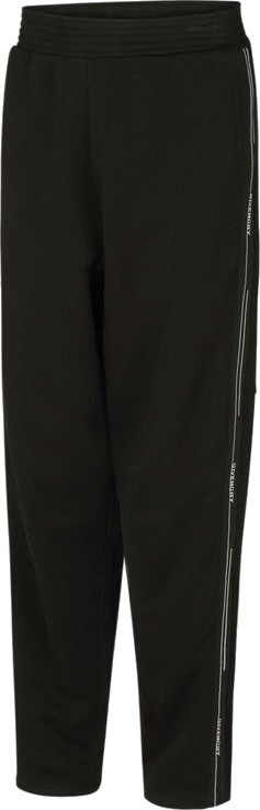 Givenchy Logo Stripe Black Sweatpants