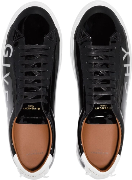 Givenchy Patent Black Sneakers