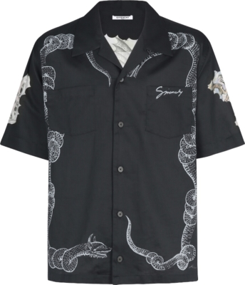 Givenchy Snake And Icarus Print Shirt