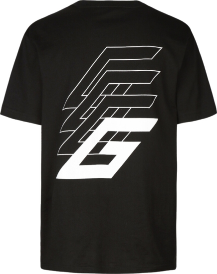 Givenchy Studio Homme Podium Black T Shirt