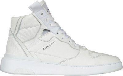 Givenchy White Wing Mid Sneakers