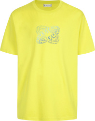 Givenchy Yellow Infinity Rings Print T Shirt