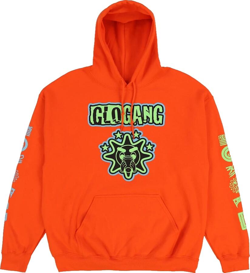 Glo Gang Orange Hoodie