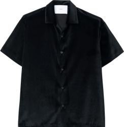 Goodfight Black Velvet Shirt