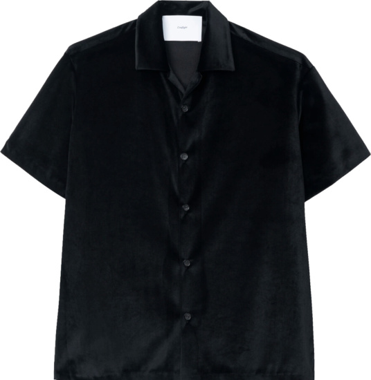 Goodfight Black Velvet Shirt
