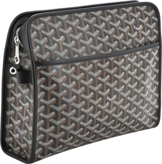 Goyard Jouvence Black Wash Bag