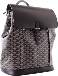 Goyard Black And Brown Alpin Backpack