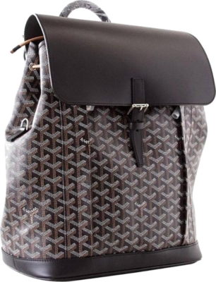Goyard Black And Brown Alpin Backpack