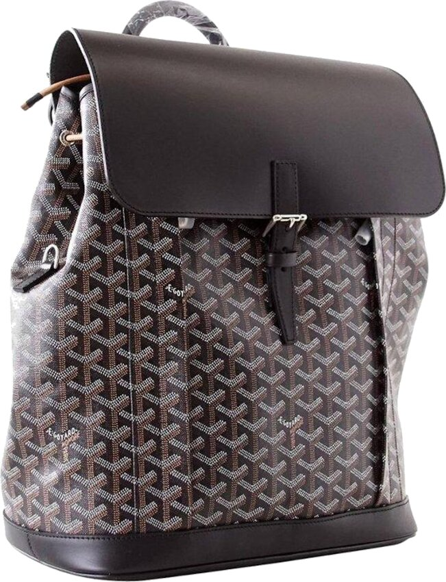 Black 'Alpin' Backpack