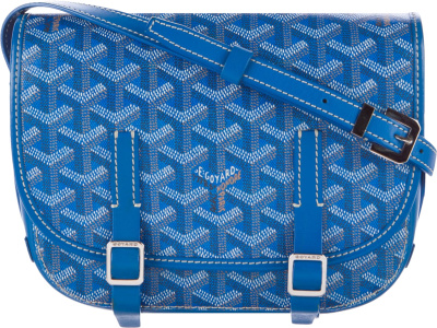 Goyard Blue Messenger Bag