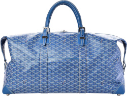 Goyard Light Blue Boeing Duffle Bag