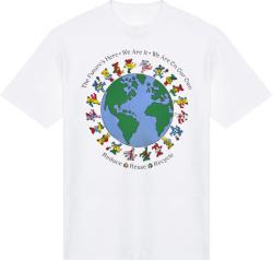 Grateful Dead Vintage 1992 Reuse Reduce Recycle Print T Shirt