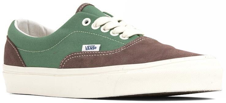 Green And Brown Vans Sneakers