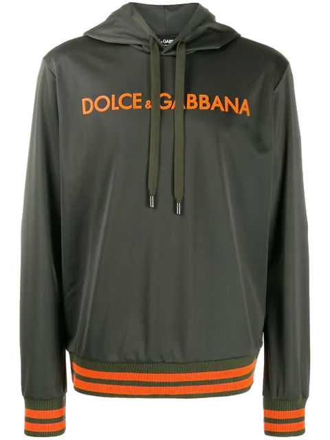 Green And Orange Dolce And Gabbana Hoodie Worn By Gucci Mane At Coachella