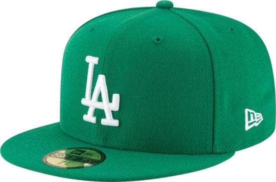 Green La Dodgers 59fifty Hat