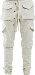 Ivory Cargo Pants