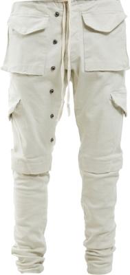 Greg Lauren Ivory Cargo Pants