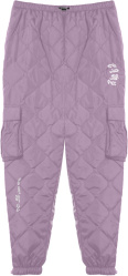 Grimey Purple Quilted Cargo Pants