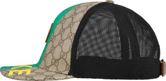 Gucci Fake Not Print Baseball Hat