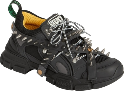 Gucci Men's Flashtrek Sneaker With Removable Spikes Sneakers