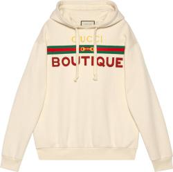Gucci White Boutique Hoodie 615061 Xjckx 9230