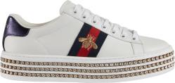 Gucci Ace Platform Embellished