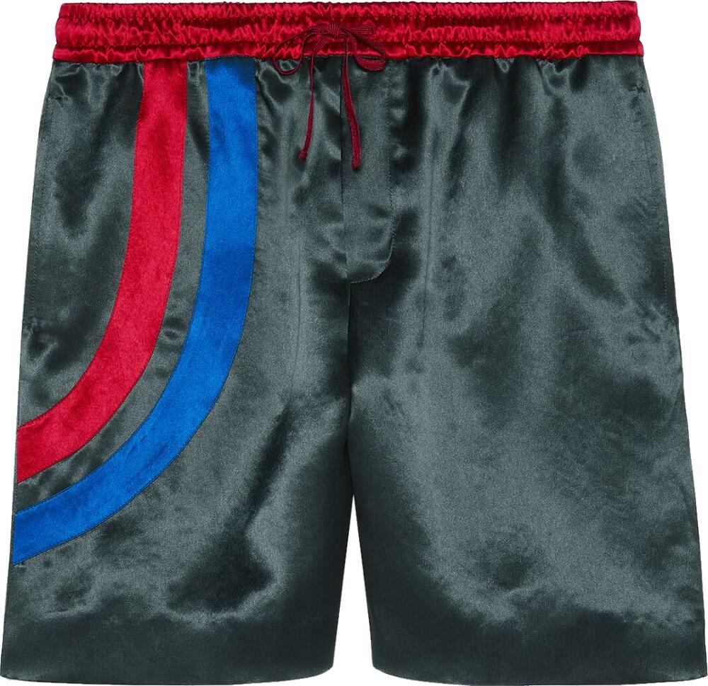 Gucci Band Grey Acetate Shorts