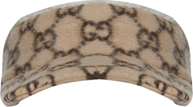 Gucci Beige And Wool Gg Hat