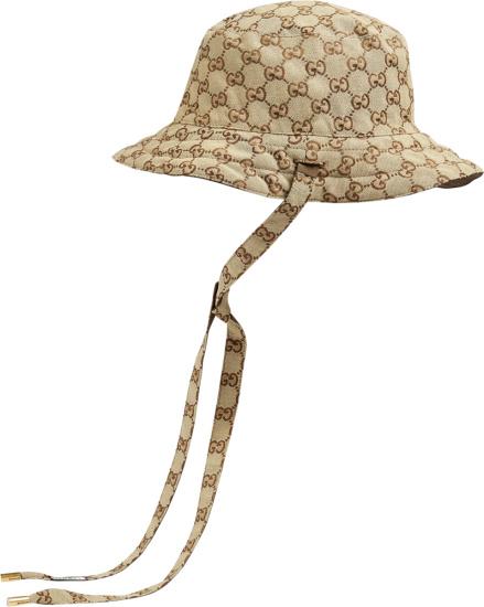 Gucci Beige Reversible Bucket Hat