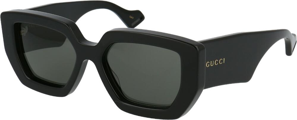 Gucci Black Chunky Frame Sunglasses