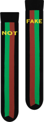 Gucci Black Fake Not Striped Socks