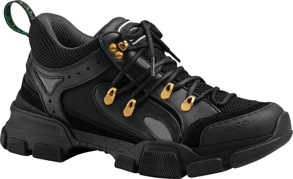 Black 'Flashtrek' Sneakers