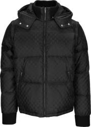 Gucci Black Gg Convertible Puffer Jacket