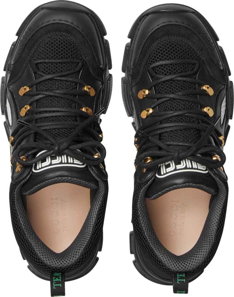 Gucci Black Hiking Sneakers