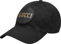 Gucci Black Off The Grid Baseball Hat