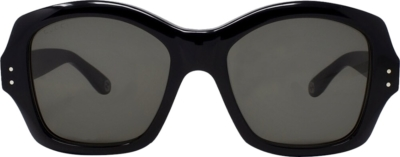 Gucci Black Oversized Square Sunglasses